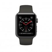 Apple Watch Series 3 38mm vesmírně šedý hliník s šedým sportovním řemínkem