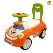Baybee Little Schumi Push Car (Orange)