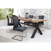 Jedálenská stolička SEMSON - grafitová