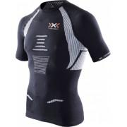X-bionic - tričko T THE TRICK MAN RUNNING SHIRT black/white Velikost: L