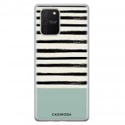 Casimoda Samsung Galaxy S10 Lite siliconen hoesje - Stripes on stripes