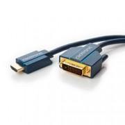 Clicktronic Cavo Video HDMI DVI-D M/M 15 m Alta Qualità