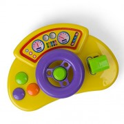 Baby And Toddler Musical Car Steering Wheel With Driving Tunes - Take Along Toy