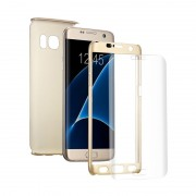 Husa 360 Full Cover Samsung A5 2017 - Gold
