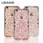 Калъф USAMS Grace за Apple iPhone 6/6S Розово злато
