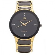 i DIVA'S Golden colour IIK casual watch for Men by BrandKing