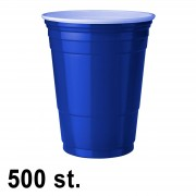 StudyShop 500 st. Blue Cups Blå Muggar (16 Oz.)