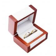 Dřevěná dárková krabička na snubní prsteny DN-7/A1
