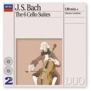 J.S. Bach - Cellosuites1-6 (0028944229325) (2 CD)