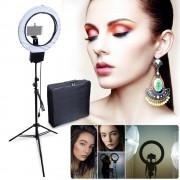 Studio Diva Camera Phone Holder, mirror, bag Kit for Photographic Make Up Selfie Video Photo Tolifo R-48B - Accesorii lampa circulara