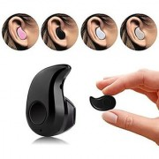 Mini S530 Stereo Bluetooth 4.1 Headset Earphone Earbud For All Smartphones and All Devices Bluetooth (Black)