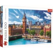 Puzzle clasic - O zi cu soare la Londra 500 piese