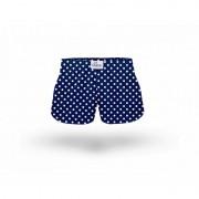ELKA Underwear Dětské trenky ELKA modré s malým puntíkem (B0036) 92