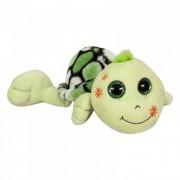 Plüss teknős 48cm, zöld