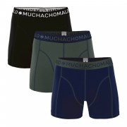 Muchachomalo Boxershorts Solid186 3 pack-S
