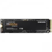 Твърд диск SSD Samsung 970 EVO PLUS, 1 TB, 3D V-NAND Flash, NVMe M.2, MZ-V7S1T0BW