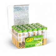 Gp Batteries Confezione 24 Batterie GP Super Alcaline Stilo AA: 15A/LR06