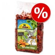 20% korting! 125 g JR Farm Wortelchips - 125 g