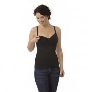 Top reductor sin costuras para lactancia Carriwell Talla L Color negro