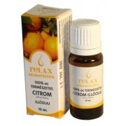 Relax Aromaterápia illóolaj, 10 ml - Citrom