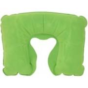 JOURNEY9 PVC SWEAD NECK PILLOW GREEN Neck Pillow(GREEN)
