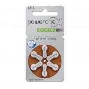 Power One 60 Batterie 312 / Pr41 Per Protesi Acustiche