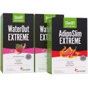Sensilab Schlank & fit Paket - Schnell abnehmen und den Körper entwässern. 1-Monatskur