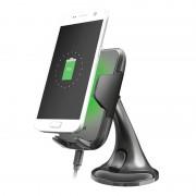 Trust Yudo Car Holder %26 Qi Wireless Charger - 5W - Black