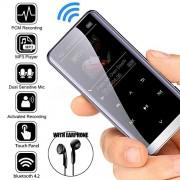OVE Reproductor de MP3 Bluetooth HiFi Deportivo Altavoces de Música MP4 Media FM Radio Grabadora Una talla U2oRkurp-PEL_08L6XZMQ-0615-DGXE