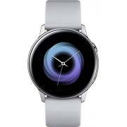 Samsung Galaxy Watch Active (40 mm, GPS, Bluetooth, WiFi), versión de Estados Unidos con garantía, Plateado/Gris, 2.3