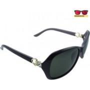 Polo House USA Oval Sunglasses(Red)
