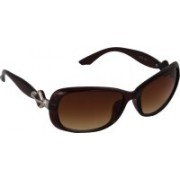 Pede Milan Over-sized Sunglasses(Brown)