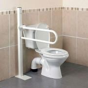 Patterson Barre d'appui pour toilettes Devon - Fixation sol – Courte