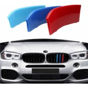 Set emblema ornament plastic grila BMW MPower X5 X6 F15 F16 7 bare 2015-2018