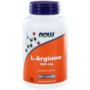 NOW L-Arginine 500mg Capsules