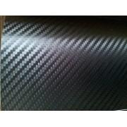 Folie carbon 3D neagra USA eliminare bule aer si textura marita