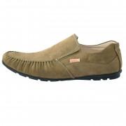 Pantofi copii, din piele naturala, marca Viva Bimba, K126-40, kaki
