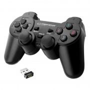 Controller wireless pentru PS3/PC Esperanza Gladiator, vibratii, design ergonomic