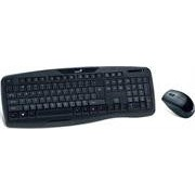 Genius KB-8000X 2.4 GHz Anti-Interference Desktop Combo Keyboard and Mouse