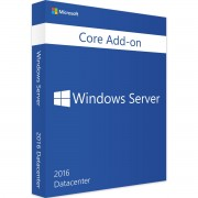 Windows Server 2016 Datacenter Core AddOn additional license 2 Cores