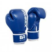 Gants de boxe pour enfants - 6 oz - Bleu et blanc