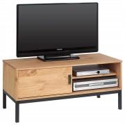 IDIMEX TV Lowboard SELMA mit 1 Schiebetür, gebeizt/gewachst