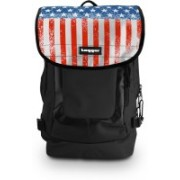 Tagger Urban Electro Stars & Stripes Bsly_olbk (Black) Top Loaded Ultimate 21 L Laptop Backpack(Multicolor)