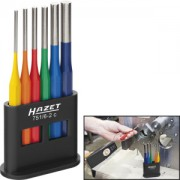 HAZET Coloured drift pin set, 6 pieces 751/6-2C . Number of tools: 6