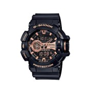 Casio G -Shock Black & Rose Watch GA400GB-1A4