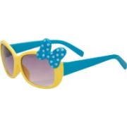 Kidofash Over-sized Sunglasses(For Girls)