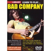 Roadrock International Lick Library: Learn To Play Bad Company DVD