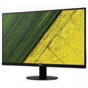 Монитор, Acer SA240YAbi, 23.8 Wide IPS LED, ZeroFrame, Anti-Glare, Ultra-thin, 4ms, 100М:1 DCR, 250 cd/m2, Черен, UM.QS0EE.A01
