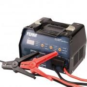 FERM Carregador de baterias BCM1020 6 V/12 V 12 A