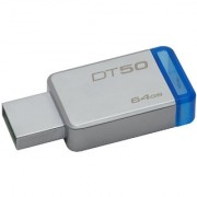 Kingston Digital 64GB USB 3.0 Data Traveler 50 110MB/S Read 15MB/S Write (DT50/64GB)